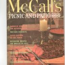 Vintage McCall's Picnic And Patio Cookbook M18 1972 Edition McCalls Mc Calls