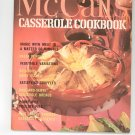 Vintage McCall's Casserole Cookbook M2 1972 Edition McCalls Mc Calls