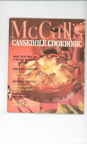 Vintage McCall&#039;s Casserole Cookbook M2 1972 Edition McCalls Mc Calls