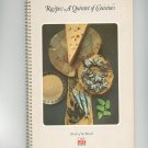 A Quintet Of Cuisines Recipes Cookbook Vintage  1977