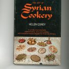 The Art Of Syrian Cookery Cookbook Helen Corey Vintage 1962