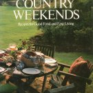 Lee Bailey's Country Weekends Cookbook 0517548801