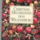 Christmas Decorations From Williamsburg 0879350857 Susan Hight Rountree