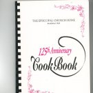 Regional Episcopal Church Home 125th Anniversary Cookbook New York