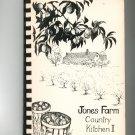 Regional Jones Farm Country Kitchen II Cookbook 1983 Cornwall New York