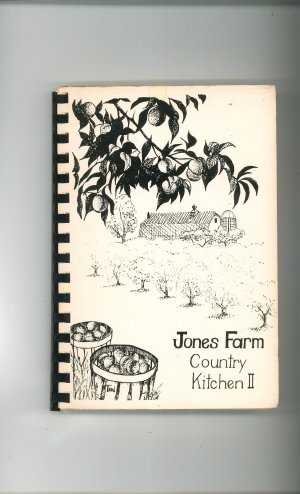 Regional Jones Farm Country Kitchen II Cookbook 1983 Cornwall New York