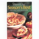 The Pampered Chef Seasons Best Recipe Collection Fall Winter 2001 Cookbook