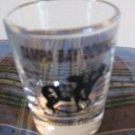 Tampa Bay Downs Oldsmar Florida Shot Glass Souvenir