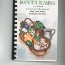 Regional Bountiful Blessings Cookbook Holy Cross Parish New York