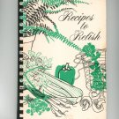 Regional Recipes To Relish Cookbook Vintage New York Auxiliary Medical Society 1976