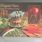 Elegant Fare From The Weber Kettle Cookbook by Jane Wood 0307492680 Grill Vintage