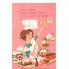 Sour Cream The  Gourmet Touch Cookbook Vintage American Dairy Association