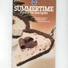 Pillsbury Summertime Favorite Recipes Cookbook Classic # 9 1981