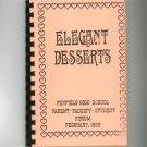 Regional Elegant Desserts Cookbook Penfield High School New York 1988