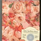 Table Top Photo Album Floral Roses Never Opened