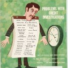 Vintage The American Legion Magazine December 1969 Problems With Credit Investigations