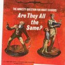 Vintage The American Legion Magazine May 1972 The Amnesty Question For Draft Evaders