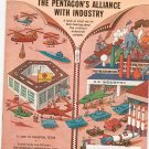 Vintage The American Legion Magazine June 1971 The Pentagon's Alliance With Industry