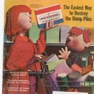 Vintage The American Legion Magazine August 1971 The Easiest Way To Destroy The Dump Piles