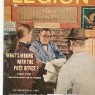 Vintage The American Legion Magazine February 1969 What&#39;s Wrong With The Post Office