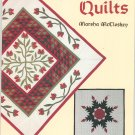 Christmas Quilts by Marsha McCloskey Dover Needlework Series 0486264068