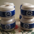 Lot Of 8 Cebelia DMC 3 Thread Crochet Thread Never Opened