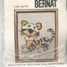 Tipsy Tiger Picture Kit Crewel By Bernat Number S 9120