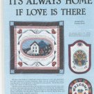 It's Always Home If Love Is There Quilt Pattern By Joanne Kost