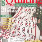 McCall's Quilting Magazine Back Issue December 2001