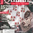 McCall's Quilting Magazine Back Issue December 2000