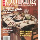 McCall's Quilting Magazine Back Issue November 1994