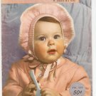 Vintage Bear Brand Baby Book Infants To 4 Years Volume 339 1950 Knitting