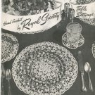 Hand Crochet By Royal Society Book Number 6 Table Settings Vintage 1946