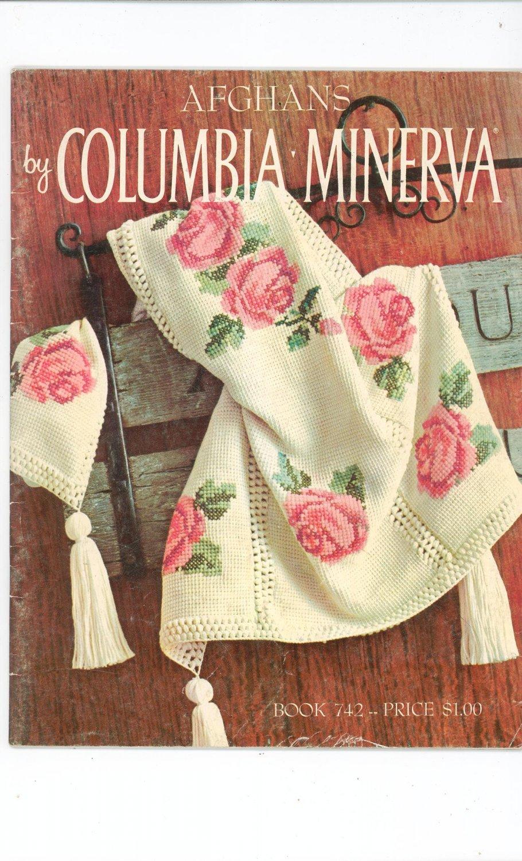 Vintage Afghans By Columbia Minerva Book 742