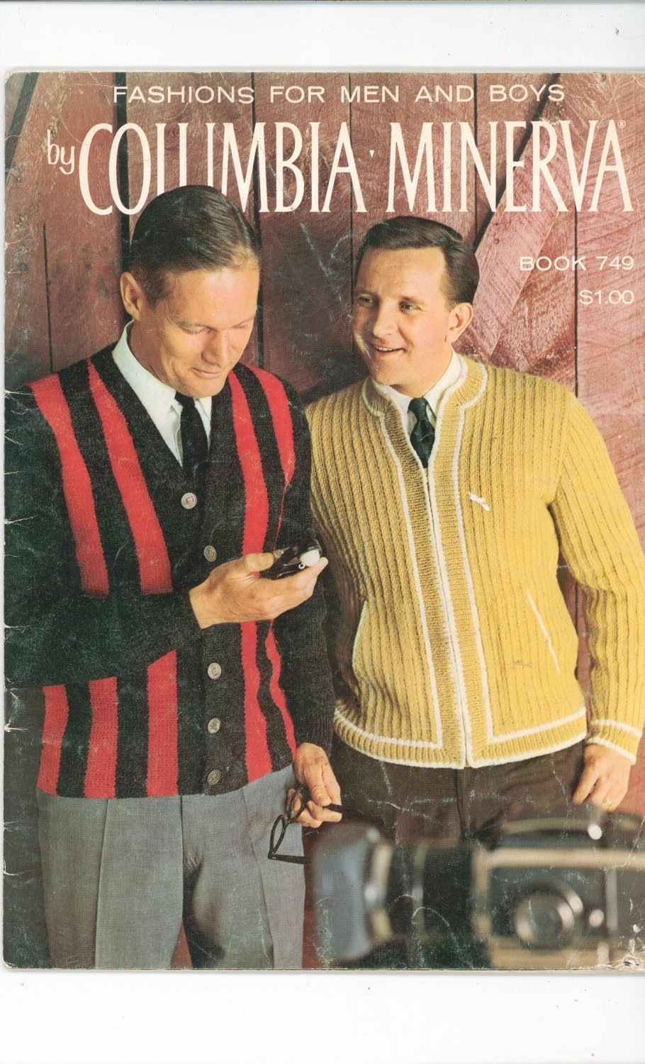 Vintage Fashions For Men And Boys By Columbia Minerva Book 749