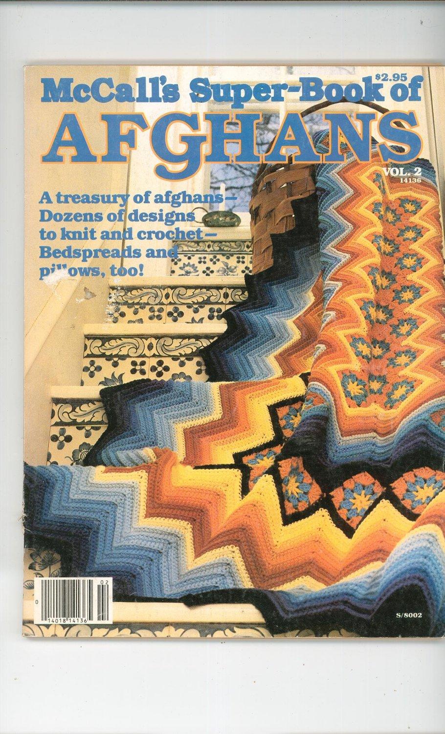 McCall's Super Book Of AfghansVolume 2 Knit Crochet
