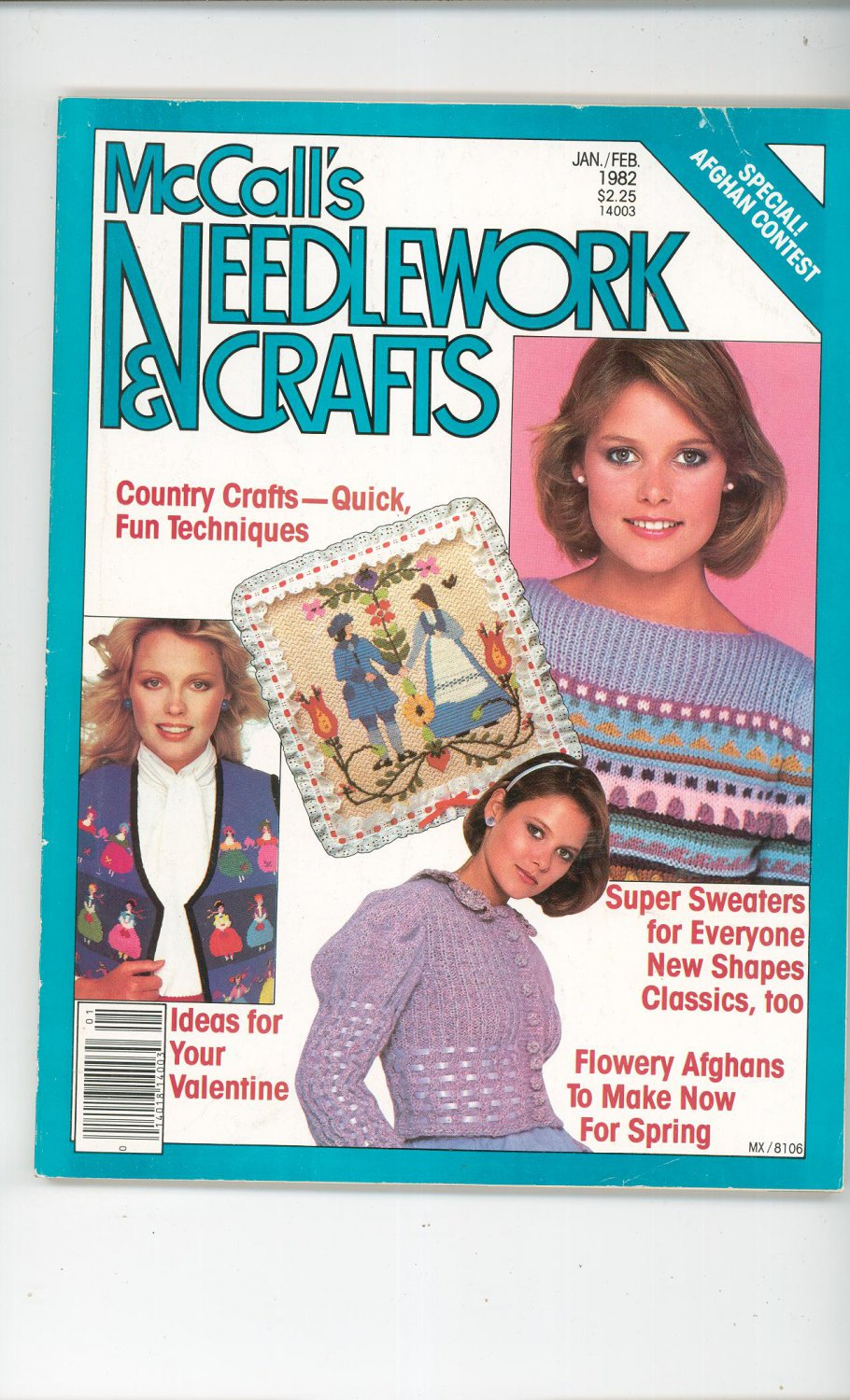 McCall's Needlework & Crafts Back Issue January February 1982