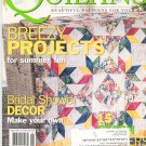 McCall's Quilting Magazine Back Issue August 2003