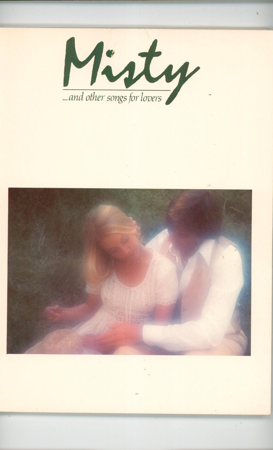 Misty And Other Songs For Lovers Warner Brothers Publications