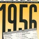 Billboard The Best Of 1956 Piano Vocal Guitar Joel Whitburn 0881888745