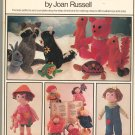 Vintage Woman's Day Book Of Soft Toys & Dolls By Joan Russell 0671220853