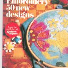 Vintage Embroidery 50 New Designs Golden Hands 1973