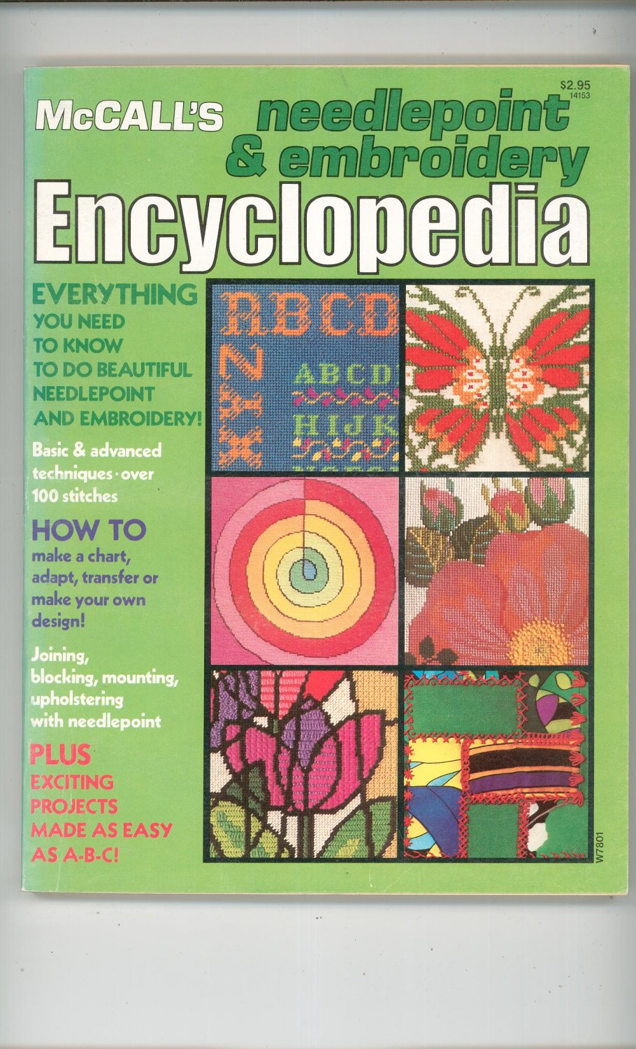 McCall's Needlepoint & Embroidery Encyclopedia Vintage 1978