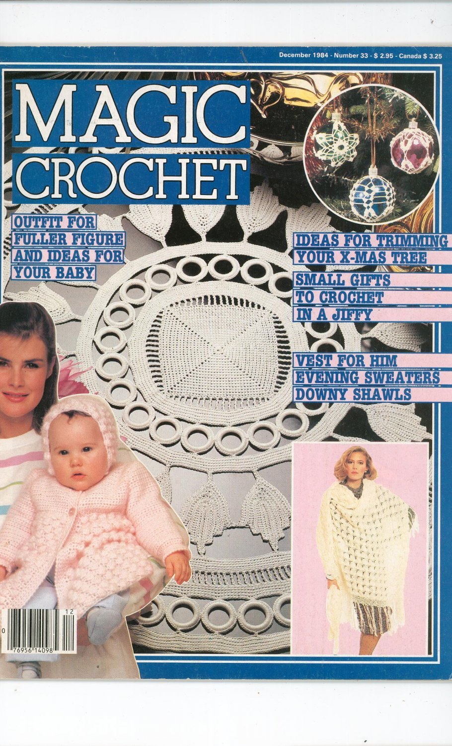 Magic Crochet Number 33 December 1984 Tricot Selection