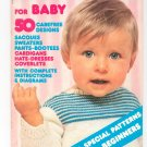 Mon Tricot Knit & Crochet For Baby Magazine Back Issue February March 1975