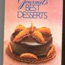 Gourmet's Best Desserts Cookbook 0394564227 Hard Cover