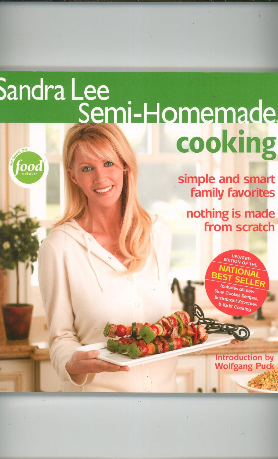 Sandra Lee Semi Homemade Cooking Cookbook 0696226855