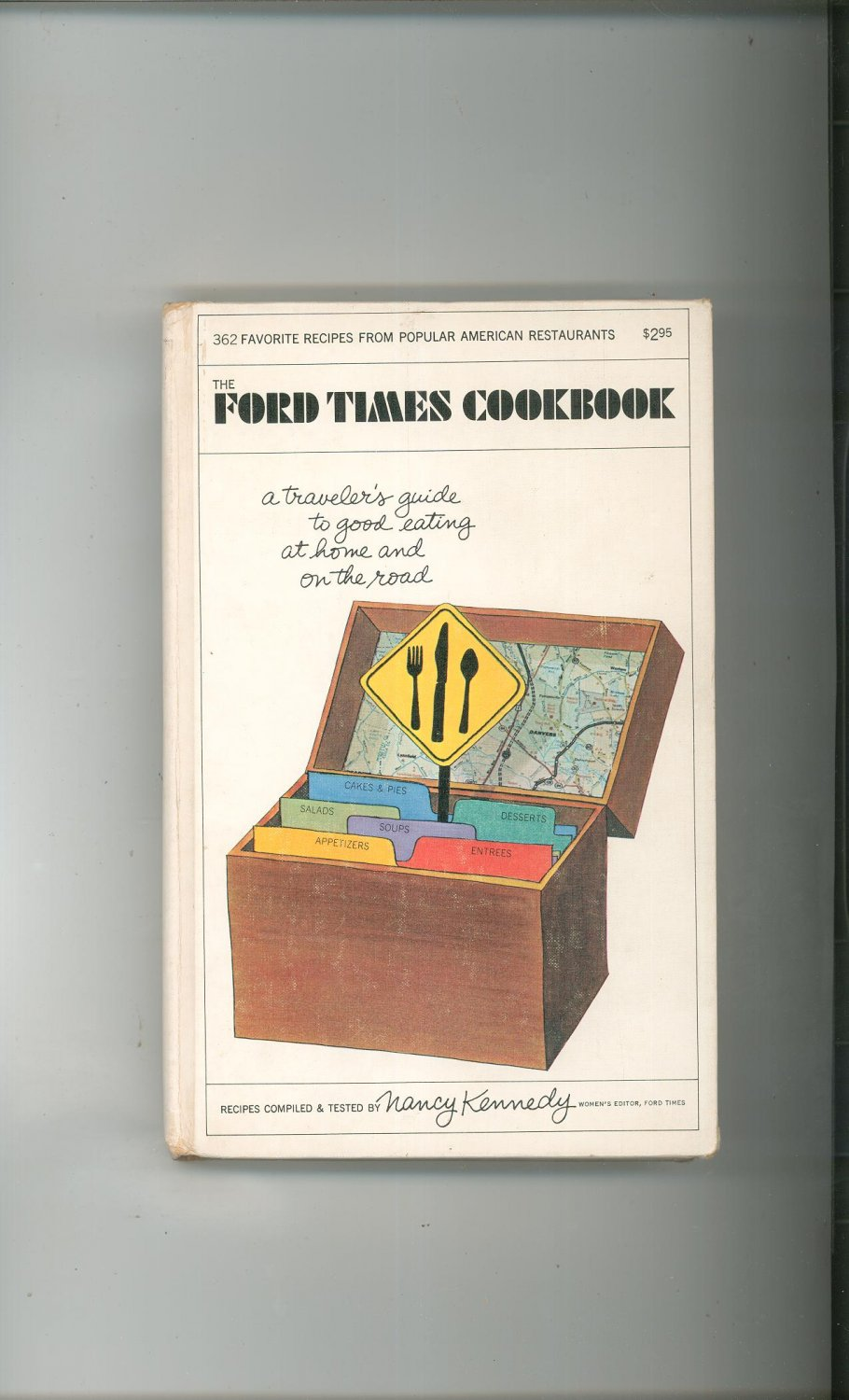 Vintage The Ford Times Cookbook First Printing 1968