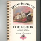 Best Of Friends ETC Cookbook Signed Copy D. Skees Easy & Elegant 0961915803