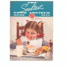 The Sealtest Food Adviser Winter 1941 Cookbook Vintage